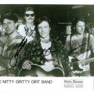 THE NITTY GRITTY DIRT BAND SIGNED AUTOGRAPHED RP PHOTO