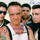 THE SOPRANOS CAST SIGNED AUTOGRAPHED RP PHOTO HBO MOB