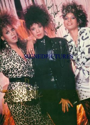 THE POINTER SISTERS SIGNED RP PHOTO ANITA RUTH AND JUNE