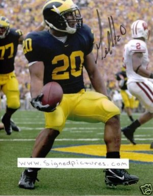 MICHAEL HART SIGNED AUTOGRAPHED RP PHOTO MICHIGAN MIKE