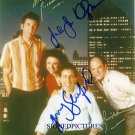 SEINFELD CAST SIGNED AUTOGRAPHED RP PHOTO NEW YORK CITY