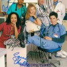 SCRUBBS FULL CAST SIGNED AUTOGRAPHED RP PHOTO COMEDY