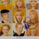 LINDSAY LOHAN SIGNED RP PHOTO MANY FACES DRAMA QUEEN