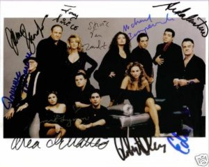 THE SOPRANOS 10 CAST SIGNED AUTOGRAPHED PHOTO HBO MOB
