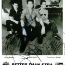 BETTER THAN EZRA SIGNED AUTOGRAPHED RP PHOTO ALL 3