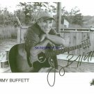 JIMMY BUFFETT SIGNED AUTOGRAPHED RP PHOTO CHEESEBURGER