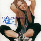 AVRIL LAVIGNE SIGNED AUTOGRAPHED RP PHOTO GR8 SINGER