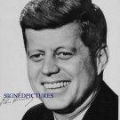 JOHN F KENNEDY SIGNED RP PHOTO USA PRESIDENT JFK 1960