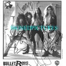THE BULLET BOYS SIGNED AUTOGRAPHED STUDIO PHOTO ALL 4