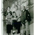 THE HUGHLEYS CAST SIGNED AUTOGRAPHED RP PHOTO ALL 7
