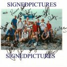 SURVIVOR ISLAND CAST SIGNED RP PHOTO 16 FIRST CASTAWAYS
