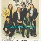 THE MARSHALL TUCKER BAND GROUP SIGNED AUTOGRAPHED RP