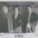 THE KNACK GROUP BAND SIGNED AUTOGRAPHED PHOTO GET THE