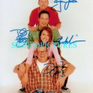 THE DREW CAREY SHOW CAST SIGNED AUTOGRAPHED RP PHOTO
