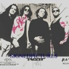 RATT GROUP BAND SIGNED AUTOGRAPHED RP PROMO PHOTO ALL 4