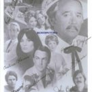 FLAMINGO ROAD CAST SIGNED AUTOGRAPHED RP PHOTO ALL 9