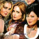 EASTWICK 6 CAST SIGNED RP PHOTO REBECCA ROMJIN STAMOS +