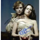 ROBERT PATTINSON AND KRISTIN STEWART SIGNED AUTOGRAPHED