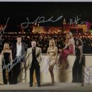 LAS VEGAS 7 CAST SIGNED AUTOGRAPHED RP PHOTO JAMES CAAN