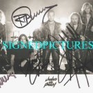 JUDAS PRIEST SIGNED 8x10 RP PROMO PHOTO