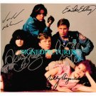 THE BREAKFAST CLUB CAST SIGNED AUTOGRAPHED 8x10 RP PHOTO HALL SHEEDY RINGWALD +