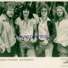 BACHMAN TURNER OVERDRIVE GROUP SIGNED RP PHOTO BTO