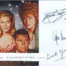 BEWITCHED CAST SIGNED 6x8 RP PROMO PHOTO MOORHEAD YORK+