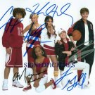 HIGH SCHOOL MUSICAL CAST SIGNED RP PHOTO ZAC VANESSA +