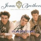 THE JONAS BROTHERS SIGNED RP PHOTO KEVIN NICK AND JOE