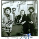 SUPERTRAMP GROUP BAND SIGNED AUTOGRAPHED RP PHOTO ALL 4