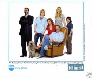 THE BILL ENGVALL SHOW CAST STUDIO PROMOTIONAL PHOTO