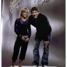 MICHAEL PHELPS AND SHAWN JOHNSON SIGNED AUTOGRAPHED RP PHOTO
