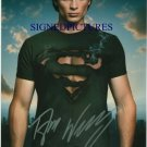 TOM WELLING SIGNED RP PHOTO SMALLVILLE SUPERMAN