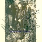 IRON MAIDEN GROUP SIGNED RP PHOTO NICKO STEVE JANICK +