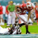 TRAVIS BECKUM SIGNED AUTOGRAPHED RP PHOTO WISCONSIN