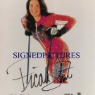 PICABO STREET SIGNED AUTOGRAPHED RP SKIING GOLD MEDAL