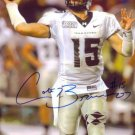 COLT BRENNAN SIGNED AUTOGRAPHED RP PHOTO HAWAII QB