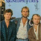 GENESIS GROUP SIGNED AUTOGRAPHED 6x9 PHOTO PHIL COLLINS