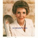 US FIRST LADY NANCY REAGAN SIGNED AUTOGRAPHED RP PHOTO