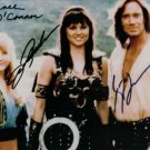 XENA AND HERCULES CAST SIGNED RP PHOTO PHOTO LAWLESS