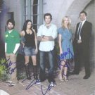 CHUCK CAST SIGNED AUTOGRAPHED RP LEVI GOMEZ STRAHOVSKI