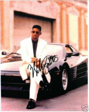WILL SMITH SIGNED AUTOGRAPHED RP PHOTO SO COOL BAD BOYS
