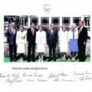 US PRESIDENTS AND FIRST LADIES SIGNED AUTOGRAPH 8X10 RP PHOTO REAGAN FORD NIXON BUSH