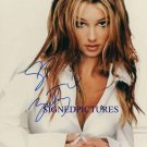 BRITNEY SPEARS AUTOGRAPHED 8x10 RP PHOTO SO SEXY