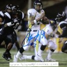 PAT WHITE SIGNED AUTOGRAPH RP PHOTO WEST VIRGINIA QB