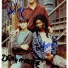 GHOST CAST SIGNED AUTOGRAPHED RP PHOTO PATRICK SWAYZE +