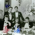 DINER CAST SIGNED RP PHOTO MICKEY ROURKE KEVIN BACON +