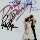DIRTY DANCING CAST SIGNED RP PHOTO GRAY PATRICK SWAYZE