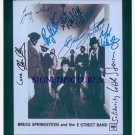 BRUCE SPRINGSTEEN & E STREET BAND SIGNED AUTOGRAPHED RP