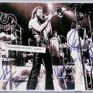CHICAGO GROUP BAND SIGNED RP PHOTO BY 5 JAMES PANKOW +